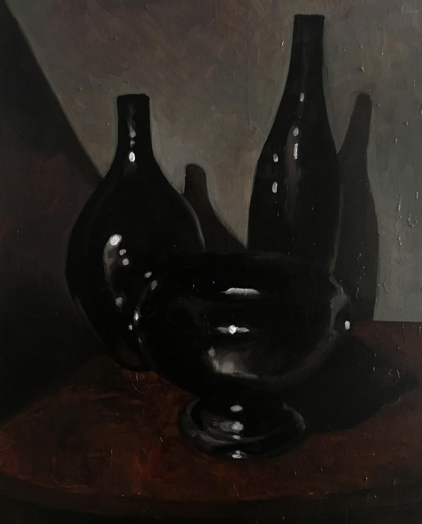 242_natura morta, le Badinage_50x40 cm, olio su tela